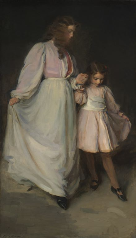 Cecilia Beaux, Dorothea and Francesca, 1898 Courtesy of the Art Institute of Chicago