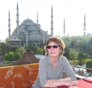 Me and the Blue Mosque in Istanbul