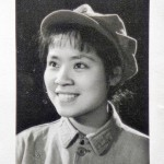 Anchee Min pictured in a screen test for Madam Mao's propaganda films.