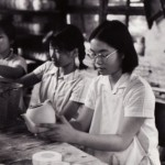 Jan Wong, age 19, in Chinese factory, 1972