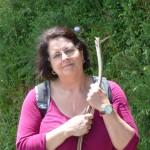 Nella on the Camino, cropped  P1020764