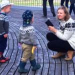 Omnipresent Icelandic sweaters