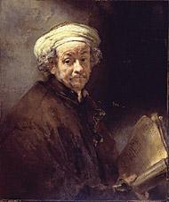 Self-portrait as the Apostle Paul