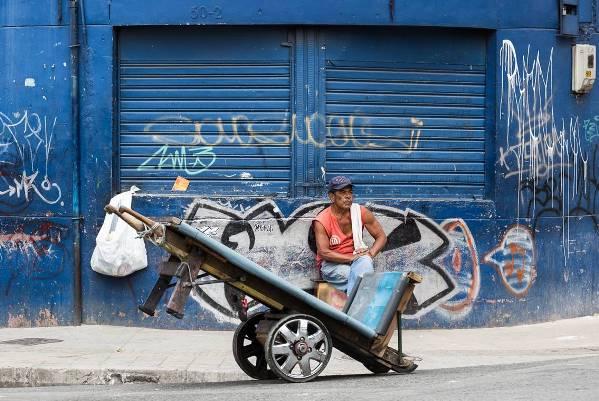 Street scene in Medillen
