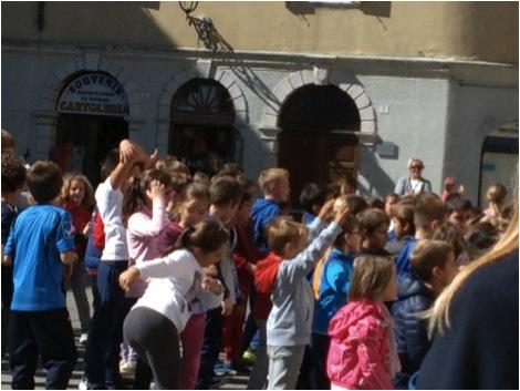 Trieste schoolkids