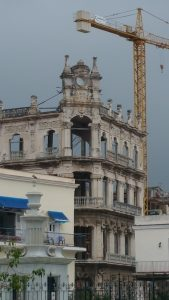 One of the lucky buildings in Havana