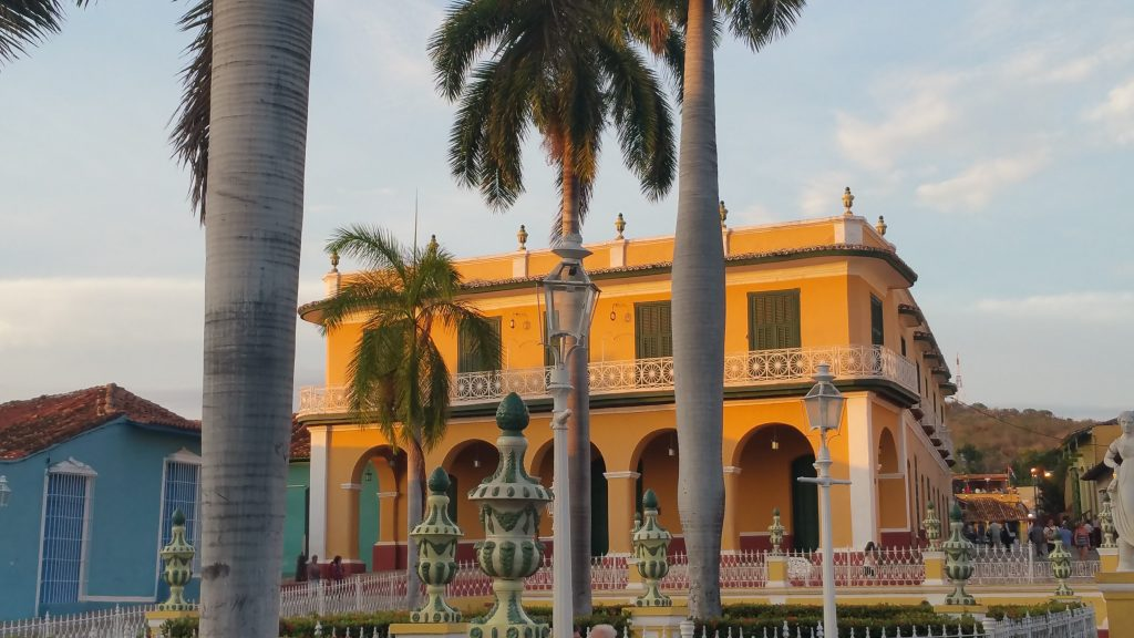 Trinidad, main square