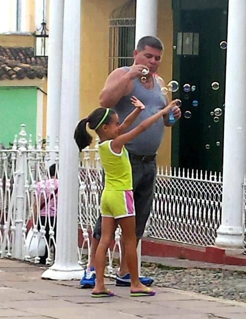 Simple pleasures in Trinidad's Plaza Major