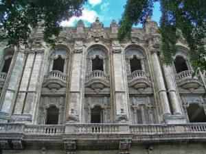 Detail of Gran Teatro in Havana