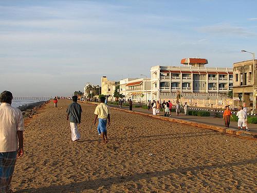 Beach at Pondy