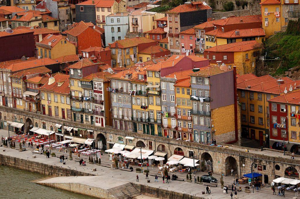 Porto along the river Duoro