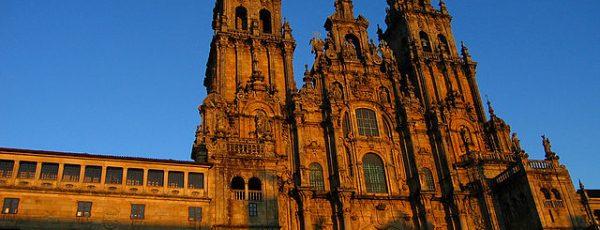 Facade of the Cathedral of Santiago de Compostela