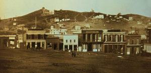 Portsmouth Square, San Francisco, in 1851