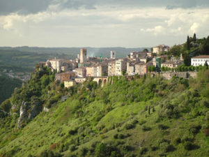 Umbrian hill town, Italy