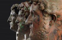 Three heads of HadrianEllie Posner/Israel Museum