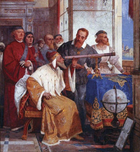 Renaissance Florence: Galileo shows the doge how to use his telescope