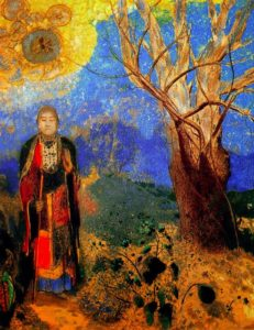 The Buddha by Redon