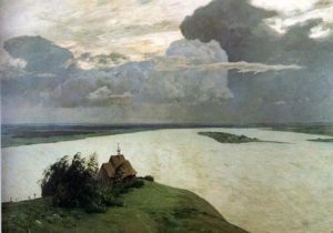 Above the Eternal Tranquility<br /> Isaac Levitan