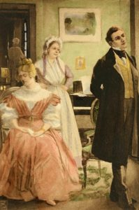 Rosamond Vincy and Tertius Lydgate in Middlemarch