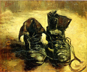 """""""A Pair of Shoes"""", 1886, Van Gogh Museum, Amsterdam"""