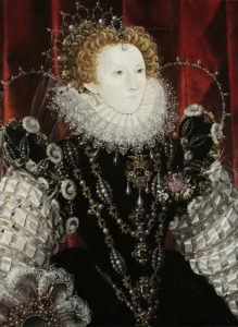 Elizabeth I, c. 1576-78 for Seeing Through Clothes