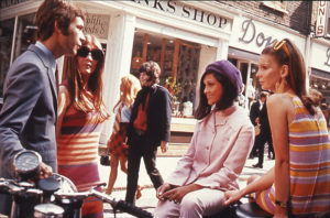 1960s fashion in London on Carnaby Street