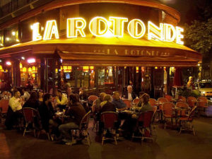 La Rotonde, frequented by numerous artists and writers in 1920s Montparnasse