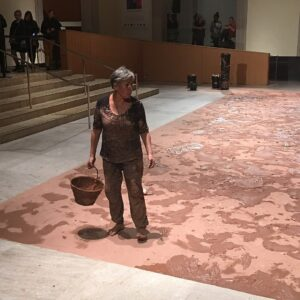 Rebecca Belmore at the 2016 Nuit Blanche<br> at the Art Gallery of Ontario