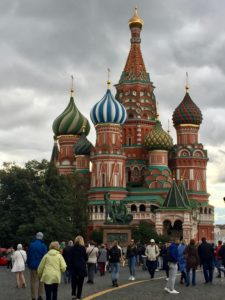 St. Basil's Cathedral in the Kremlin
