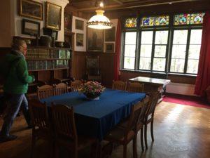 Interior of Polenov house