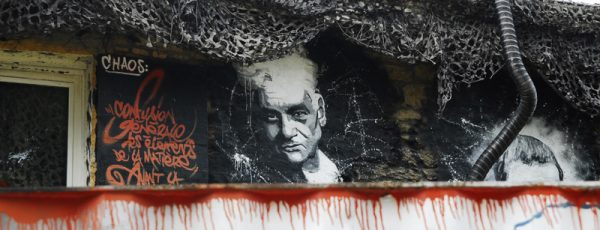 Portrait of Derrida in Rhône-Alps, France