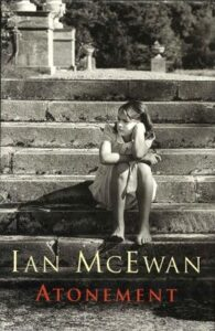Cover of Atonement, published by Jonathan Cape