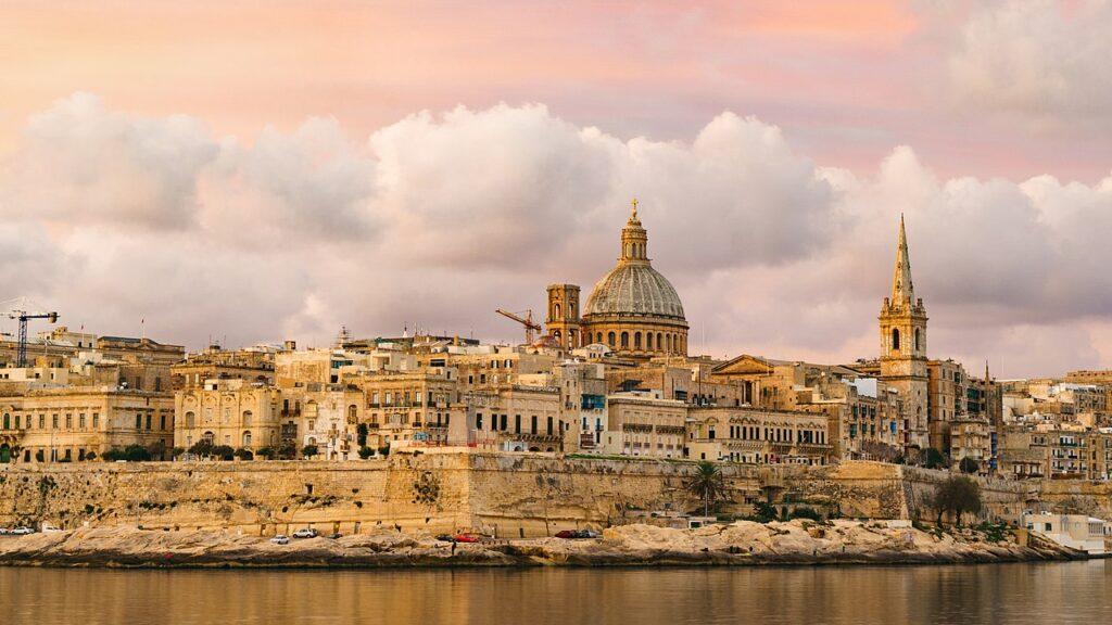 Panorama of Valletta